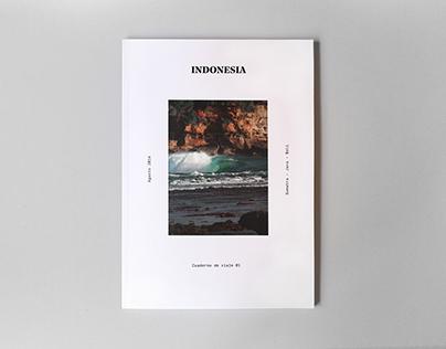 INDONESIA. Cuaderno de viaje 01