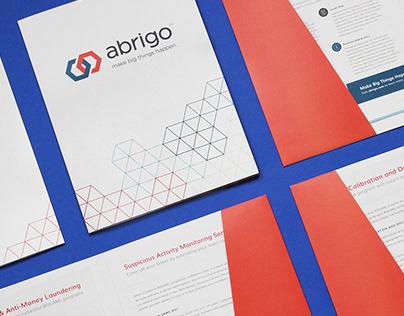 Folders and Marketing Collateral for Abrigo