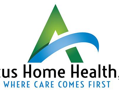 Amicus Home Health Branding