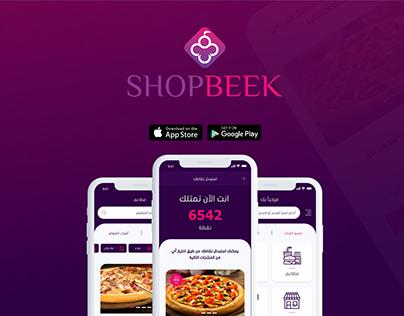 UX/UI design   SHOPBEEK e-Commerce Mobile App