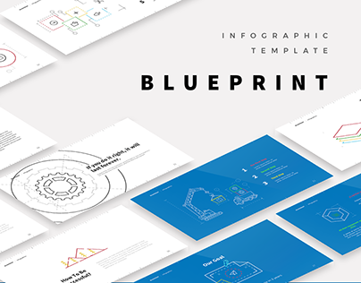 Free - Blueprint Infographic Template