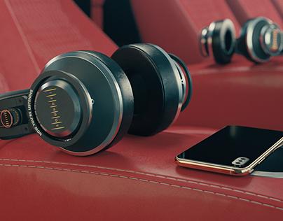 SoundFi Autodesk 3ds Max Headphones & Theater Scenes.