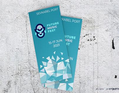 FUTURE MUSIC FEST Logo & brand identity