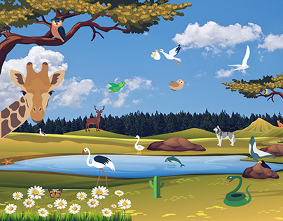 Animals, Birds & Insects Vector Icons