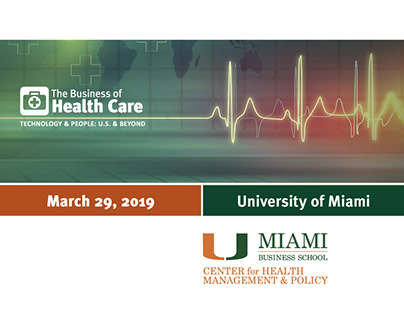 UM 2019 Business of Health Care conference brochure