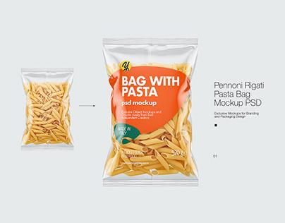 Pasta Bag Mockup