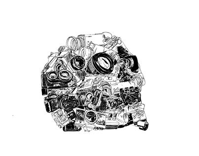 Analog Skull