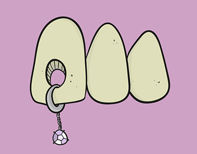 Teeth and Gems (Illustration Set)