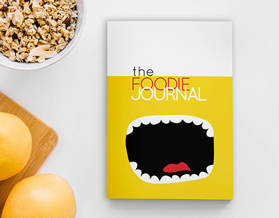 Diary design for foodies/food bloggers