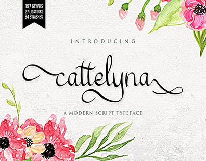 catelyna-beautiful typeface