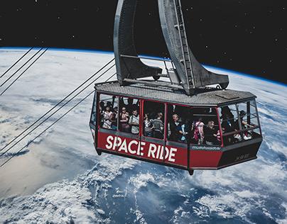 Space Ride Photo Manipulation