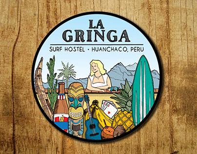 La Gringa Hostel Emblem