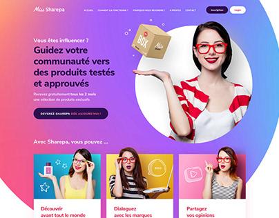 Sharepa Website