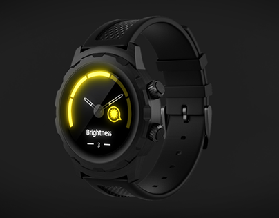 CGI of 3plus Hybrid Watch