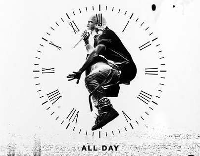 Kanye West - All Day Artwork