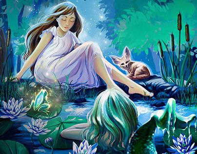 Rishka and the prisoner of the magic pond