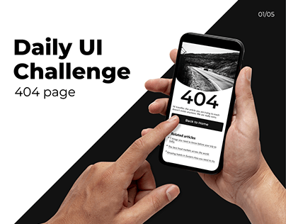Daily UI-404 page