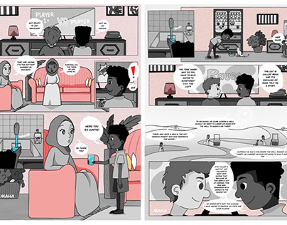 Comic for Khidr Collective