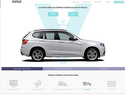 Kavak UX/UI Designing