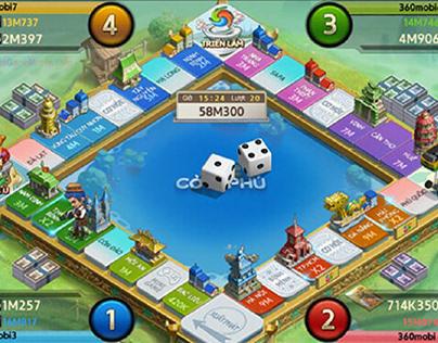 Hướng dẫn cách chơi game cờ tỷ phú trực tuyến
