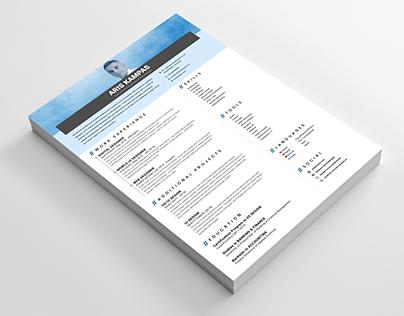 CV Design Sample