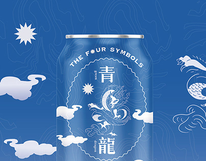 The Four Symbols Taiwan Bears package design | 四大神獸啤酒設計