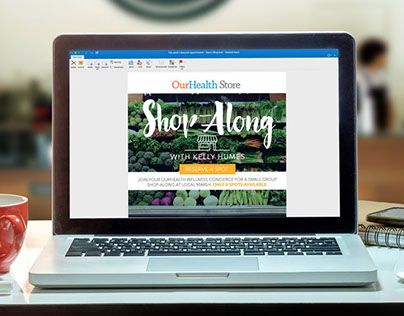 Shop-Along Marketplace Email Design