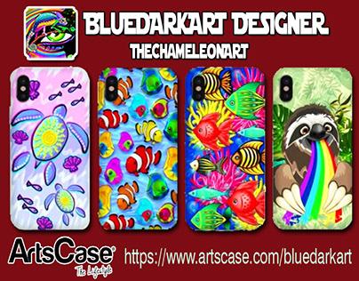 ARSTCASE Shop - BluedarkArt TheChameleonArt Design