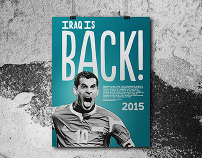 10 Moments That Defined Iraqi Football - Poster Series