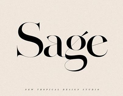 SAGE - Serif Font