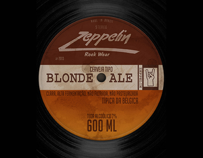 Zeppelin Blonde Ale