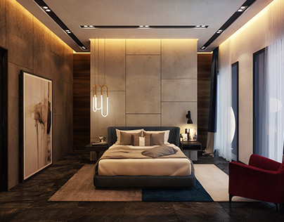 Minotti Bedroom Interior design