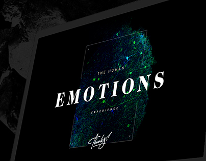 The Human Emotions - experience website