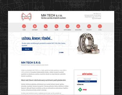 Webová prezentace společnosti MH TECH s.r.o.