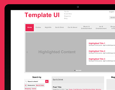 Layout and UI Component Styleguide