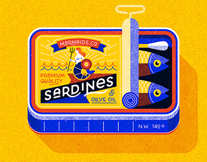 Sardine can, personal work