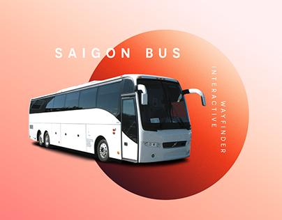Saigon Bus - Interactive kiosk - UX design.