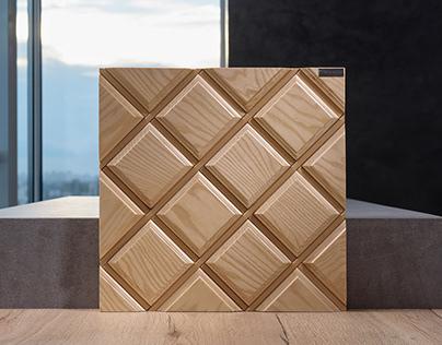 Wall coverings Wood Diamond