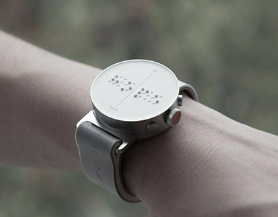 DOT- The Braille Smartwatch