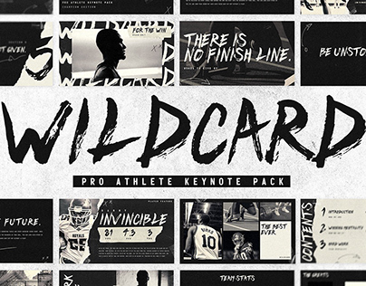 WILDCARD - PRO ATHLETE KEYNOTE PACK