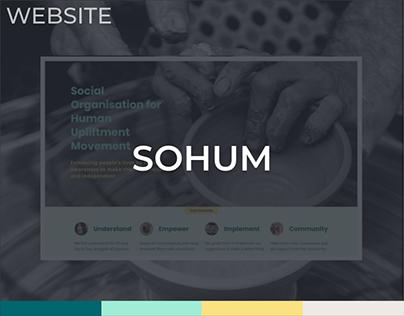 Sohum Website Design
