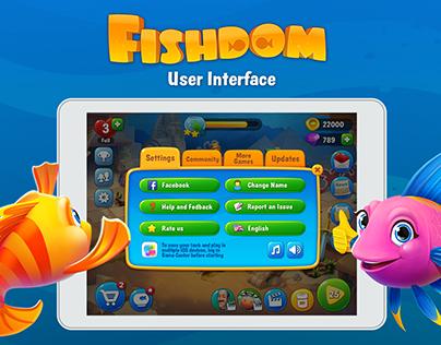 Fishdom GUI