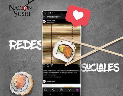 Social Media - Nación Sushi