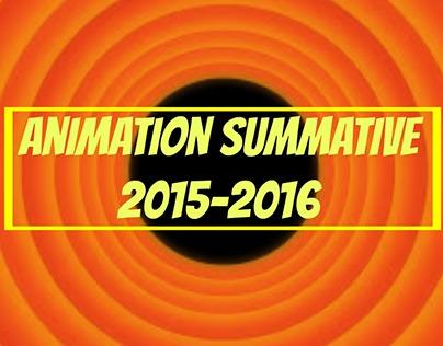 Animation Summative