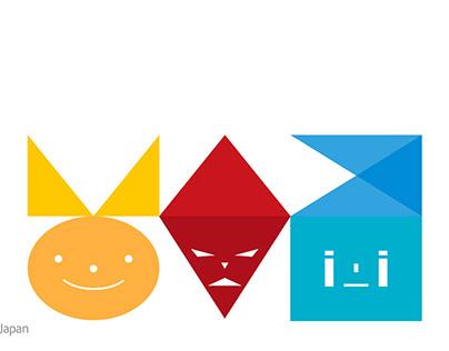 丸い人、三角の人、四角の人
