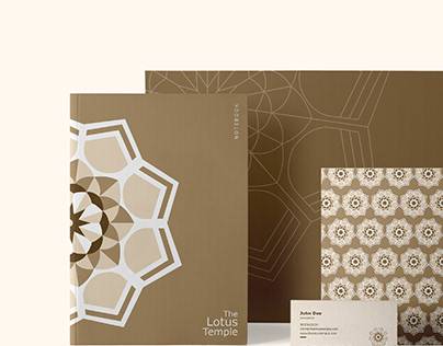 The Lotus Temple - Branding