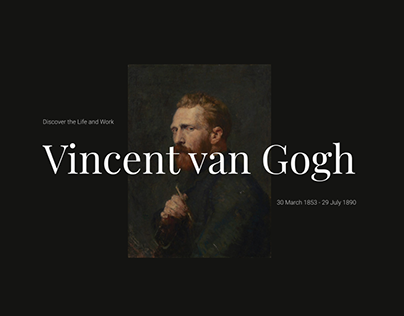 Website Vincent van Gogh