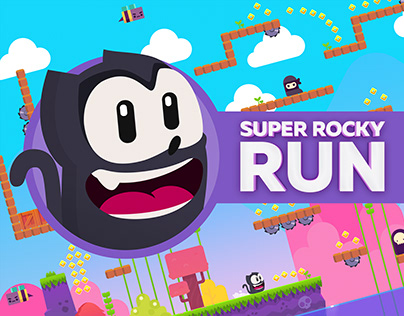 Super Rocky Run - Mobile Game