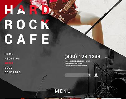 Rock Cafe Joomla Template