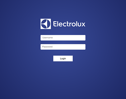Project Tracker for Electrolux